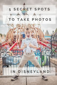 5 secrets spots to take photos in Disneyland! #disneyland #photographytips #travelingtips