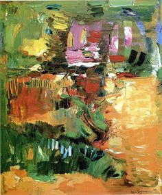 Hans Hofmann - In the Wake of the Hurricane, 1960