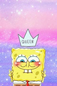 Bob Esponja Queen Wallpaper