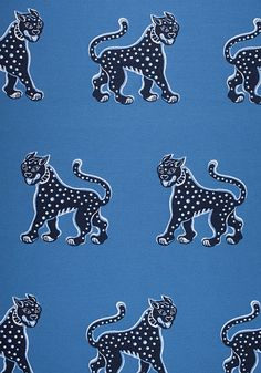 MISHA, Blue, fabric Collection Calypso from Thibaut Fabric Panels, Linen Fabric, Mid Century Modern Curtains, Imperial Dragon, Dragon Tattoo Back Piece, Japanese Dragon Tattoos, Upholstered Furniture, Fabric Wallpaper, Big Cats