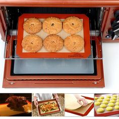 Zero-waste Non-Stick Baking Mat – Humble Household Baking Set, Baking Pans, Silicone Baking Mat, Silicone Rubber, Oven Canning, Perfect Cookie, Baking Supplies, How To Make Cookies, Macaroons