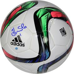 Hope Solo Autographed 2015 FIFA World Cup Soccer Ball
