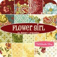 Flower Girl Fat Quarter BundleMargot Languedoc for Henry Glass Fabrics