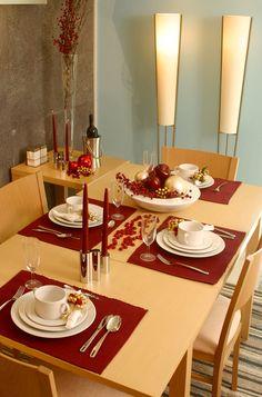 Mesa de Navidad minimalista                                                                                                                                                                                 Más
