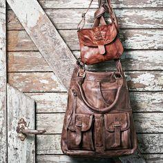 Scarlet Large Jeans Bag byBy Burin