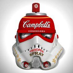 Art Wars — Diversos capacetes do Stormtrooper (Star Wars) foram reinterpretados por artistas e designers contemporâneos - See more at: http://followthecolours.com.br/2013/10/links-legais-da-semana-18.html?preview=true#sthash.oIOsOXjv.og9qPZv5.dpuf