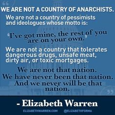 ELIZABETH WARREN ROCKS!