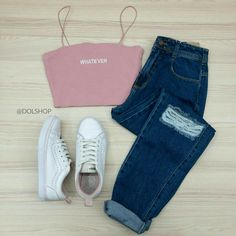 Cute Lazy Outfits, Cute Swag Outfits, Pretty Outfits, Stylish Outfits, Girls Fashion Clothes, Teen Fashion Outfits, Outfits For Teens, Fashion Hacks, Fashion Tips