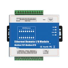 Modbus TCP Data Acquisition Module Ethernet Remote IO IOT Module for Modbus RTU meters 16 DIN Price history. Work Status, Security Monitoring, Thermal Resistance, Serial Port, Security Alarm, Control System, High Speed, Counter