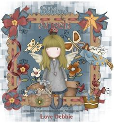 Gorjuss Tag Cute Images, Cute Pictures, Santoro London, Diy And Crafts, Paper Crafts, Paint Cards, Ideias Diy, Atc Cards, Holly Hobbie