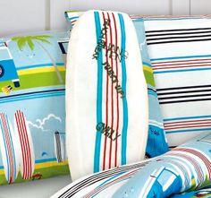 Kooky Surfs Up Surfboard Cushion Quilt Cover Sets, Surfs Up, Interior Ideas, Surfboard, Surfing, Cushion, Quilts, Duvet Cover Sets, Bed Cover Sets
