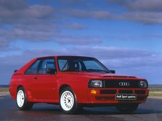 Audi Sport Quattro, maybe the awesomest street car ever made. My Dream Car, Dream Cars, Audi Quattro, A3 8p, Audi Rs3, Classic Sports Cars, Classic Cars, Audi Sport, Best Muscle Cars