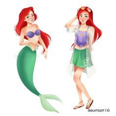 Ariel by milkteart