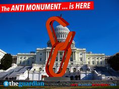 "The #ANTImonument is here! The GUARDIAN: ""VISIONARY"" http://antislaverymonument.org"