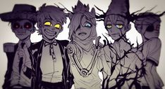 Only pinning for bipper, beast wirt, Ice Finn and demon marco