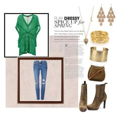 """""""Boho Chic"""" by impartofthenerdherd ❤ liked on Polyvore featuring Gucci, Missoni, Frame Denim, Chloé, Blue Nile, Temple St. Clair and Irene Neuwirth"""