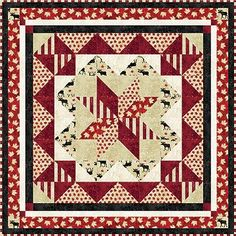 So in love with the Oh Canada Fabric from Northcott