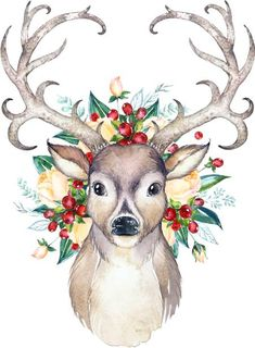 Christmas Deer Ready to Press Transfer Christmas Deer Ready to Press Transfer Silke Meye projektunbekann Rehe Christmas Deer Ready to Press Transfer patternvinyl heattransfervinyl scrappychicksonvinyl silohouettecameo nbsp hellip art Painting Illustration Noel, Christmas Illustration, Christmas Drawing, Christmas Paintings, Watercolor Christmas, Christmas Images, Christmas Art, Christmas Pictures To Draw, Christmas Deer Decorations