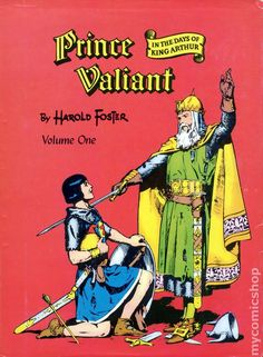 Prince Valiant hard cover treasury size compilation of Prince Valiant comic strip by Hal Foster. Volume 1. I think there are four volumes in this series.