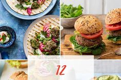 Chilli, Czosnek i Oliwa Salmon Burgers, Lunch Box, Meals, Vegetables, Healthy, Ethnic Recipes, Diet, Salmon Patties, Meal