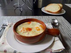 Spanish Style Baked Eggs in Tomato Sauce