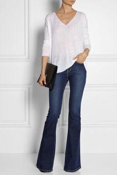 Casual, bom para trabalhar na 6a feira se teu emprego permitir calça jeans!