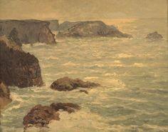 Claude Monet (1840-1926) Côte de Goulphar sous le soleil (M Maufra) Huile sur toile, 81 x 65 cm, 1900, musée des Beaux-Arts, Rennes.