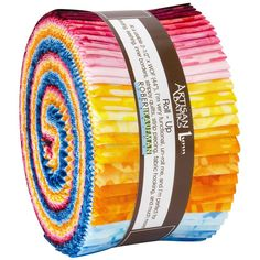 Robert Kaufman Fabrics Good Vibes Artisan Batiks Roll Ups Jelly Roll Strips