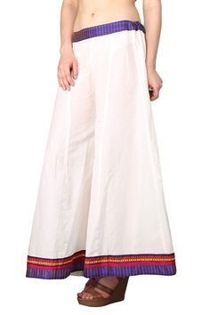 cd54aef138fdd Shararat Women's Cotton Loose Flared Wide Leg Palazzo Pants Free Size  Sharara ** You can
