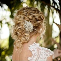 Hair ideas for naturally curly brides | Weddings, Planning, Beauty and Attire, Fun Stuff | Wedding Forums | WeddingWire