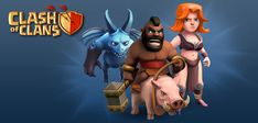 To enjoy Clash of Clans on your home computer or laptop, there are several different options you can choose. Read this article here: http://www.techmero.com/2013/11/play-clash-of-clans-game-online-on-your-pc/