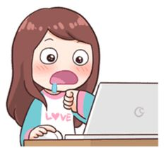 You can show your daily fangirling activities by using these stickers~! Kawaii Stickers, Anime Stickers, Cute Stickers, Cute Cartoon Pictures, Cartoon Pics, Chibi Anime, Kawaii Anime, Memes Lindos, Korean Stickers