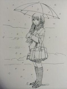 Twitter / Eguchinn: 傘は…意外とむずい! ...