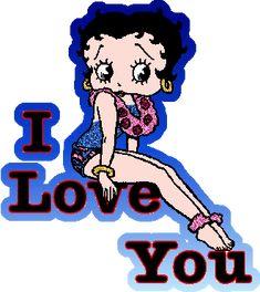 Betty Boop Boop Luv | Publié par Les je t'aime du net à 09:27