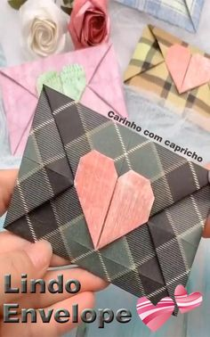 Papier falten Diy Crafts Hacks, Diy Crafts For Gifts, Diy Home Crafts, Creative Crafts, Crafts For Kids, Cool Paper Crafts, Paper Crafts Origami, Cardboard Crafts, Diy Paper