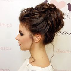 Unique wedding hairstyles for medium long hair elegant updo . - Unique wedding hairstyles for medium long hair elegant updo New hair models - Easy Updos For Medium Hair, Updos For Medium Length Hair, Medium Long Hair, Medium Hair Styles, Curly Hair Styles, Updos For Thin Hair, Messy Hair, Unique Wedding Hairstyles, Bridal Hairstyle