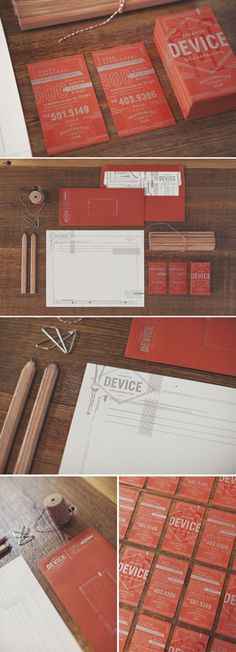 Device Branding and Stationery