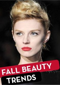 Try out the best beauty trends from the fall!