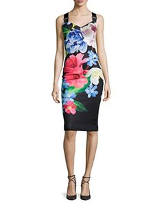 Ted Baker Women's Alexie Forget Me Not Midi Dress - New Dresses Special Today