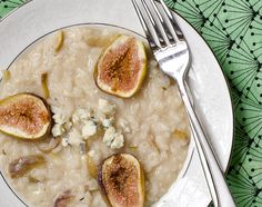Fig and Gorgonzola Risotto