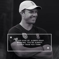 A bit of advice for aspiring sportsmen, head to my app to check it out. Cricket Sport, Cricket News, Ab De Villiers Photo, Classic 350 Royal Enfield, Player Quotes, Life Learning, Bff Pictures, Sport Motivation, Best Quotes