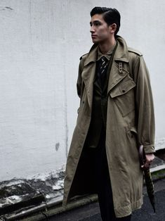 Nigel Cabourn WW1 TRENCH COAT 「大迫力のコート」 | LOFTMAN