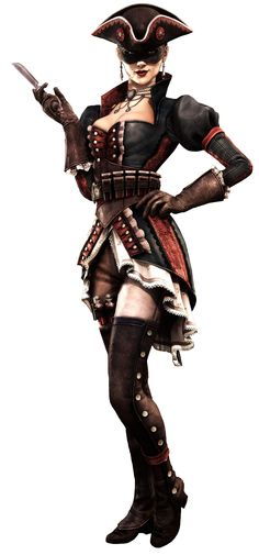 The Puppeteer from Assasins Creed IV Black Flag. I will have to have a go at making this costume!