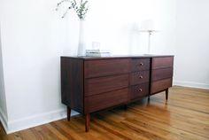Mid Century Dresser, Stanley Distinctive Furniture, MCM, For Sale, Blackwell Shoppe, Etsy, Vintage Furniture, Bedroom, Credenza