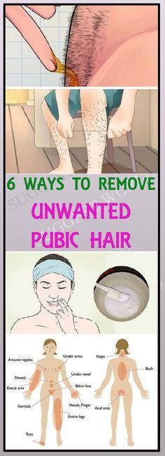 6 Ways To Naturally Remove Unwanted Body Hair Permanently #bodyhair #unwantedhair #skin #hair #homeremedies #DIY