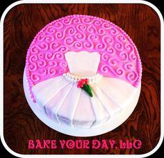 Wedding Shower Cake! Bake Your Day, LLC - Alexandria, LA www.facebook.com/bakeyourdayllc (318) 229-0299 bakeyourdayllc@hotmail.com