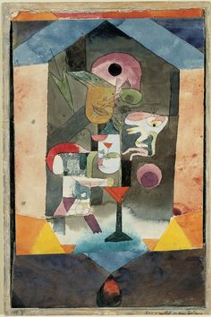 ¤ Klee remembrance Sheet of a conception 1918