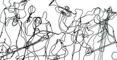 Martin Senn - Drahtobjekte - Sculture in fil di ferro-evd
