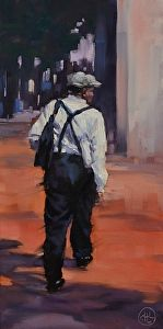 Walking into the Light by #artist Dottie T Leatherwood. #painting found on the FASO Daily Art Show -- http://dailyartshow.faso.com