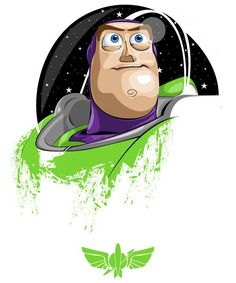 Buzz Lightyear design now available as part of the Threadless Toy Story collection. Disney Pixar, Disney Fan Art, Disney Toys, Disney Cartoons, Toy Story 3, Toy Story Room, Toy Story Party, Toy Story Birthday, Cartoon Cartoon